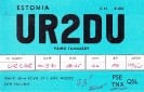 UR2 QSL: 26